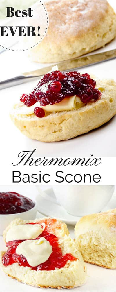 Thermomix Basic Scone Recipe - PIN ME