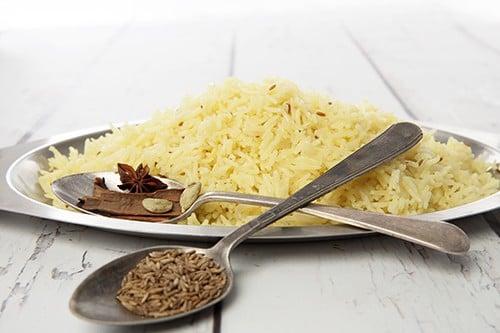 Saffron Butter Rice