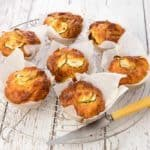 Lunch box Zucchini Bacon Muffins