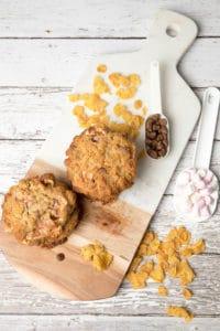Choc Chip Cornflake Cookies