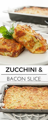 Thermomix Zucchini slice is my favourite