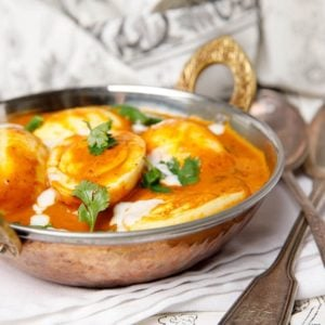 Creamy Kerala Egg Curry