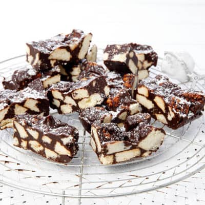 Feature Image Chocolate Crunch Slice
