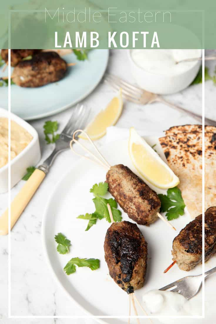 Middle Eastern Lamb Kofta for a simple weeknight dinner! Tasty, simple and healthy kofta made in the Thermomix! These are great with wraps and a store bought tzatziki for a quick meal.