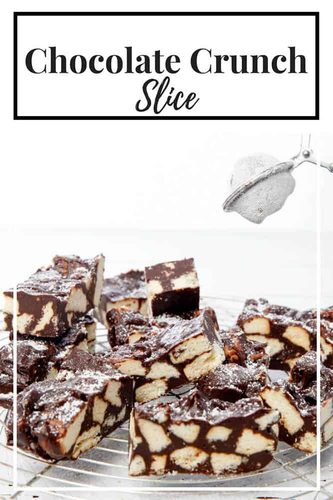 Pin Me - Chocolate Crunch Slice