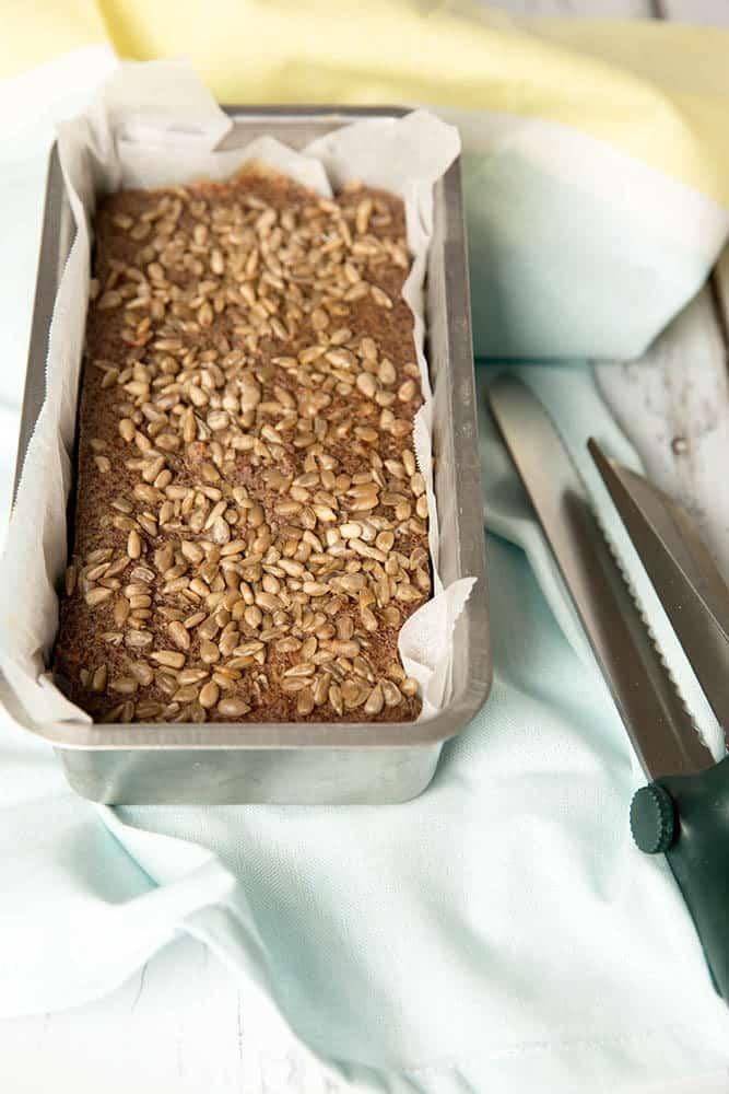 Vegan Quinoa Chai Loaf