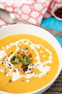 Chorizo and Pumpkin Soup