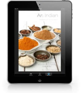 Image of Thermomix Indian Cookbook on iPad