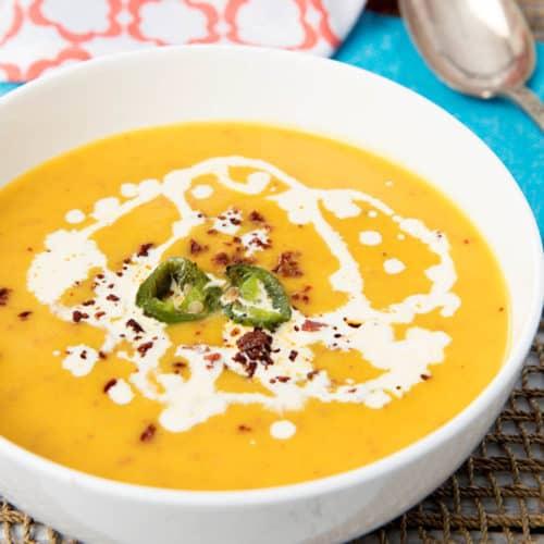 Thermomix Pumpkin Chorizo Soup