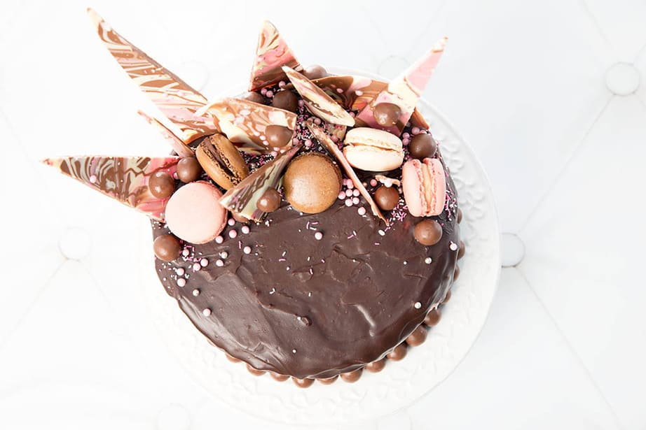Chocolate Mud Drip Cake