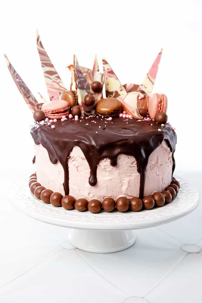 Chocolate Drip Cake Ganache Recipe