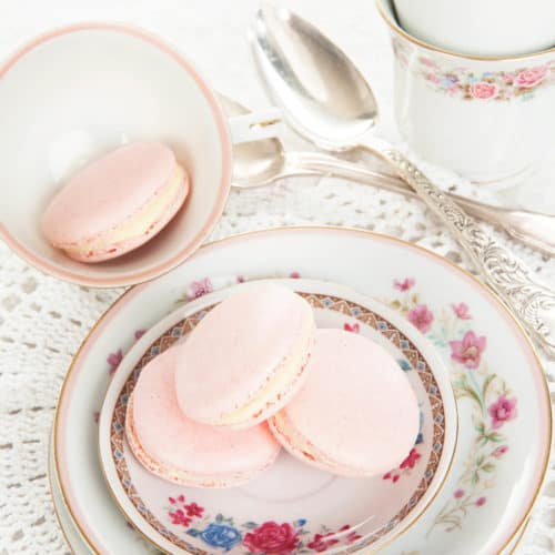 Thermomix Pink Macarons