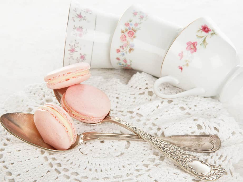 Turkish Delight Thermomix Pink Macarons