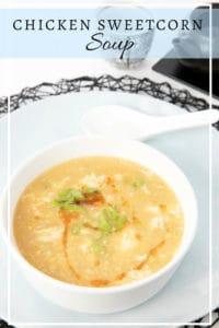Chicken Sweetcorn Soup PIN