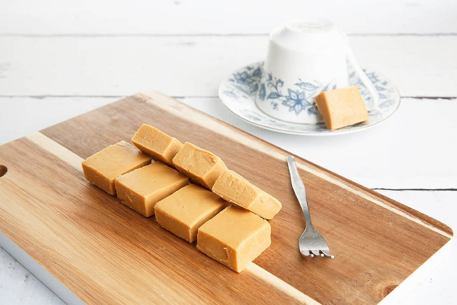 Thermomix Salted Caramel Fudge