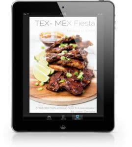 Thermomix Tex-Mex Fiesta eBook on iPad