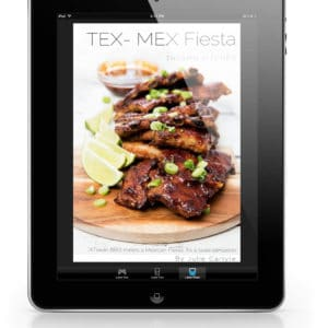Thermomix Tex-Mex Fiesta eBook on iPad