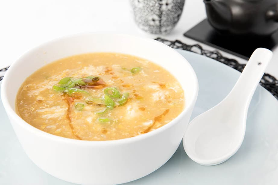 Thermomix Chinese Chicken Sweetcorn Soup
