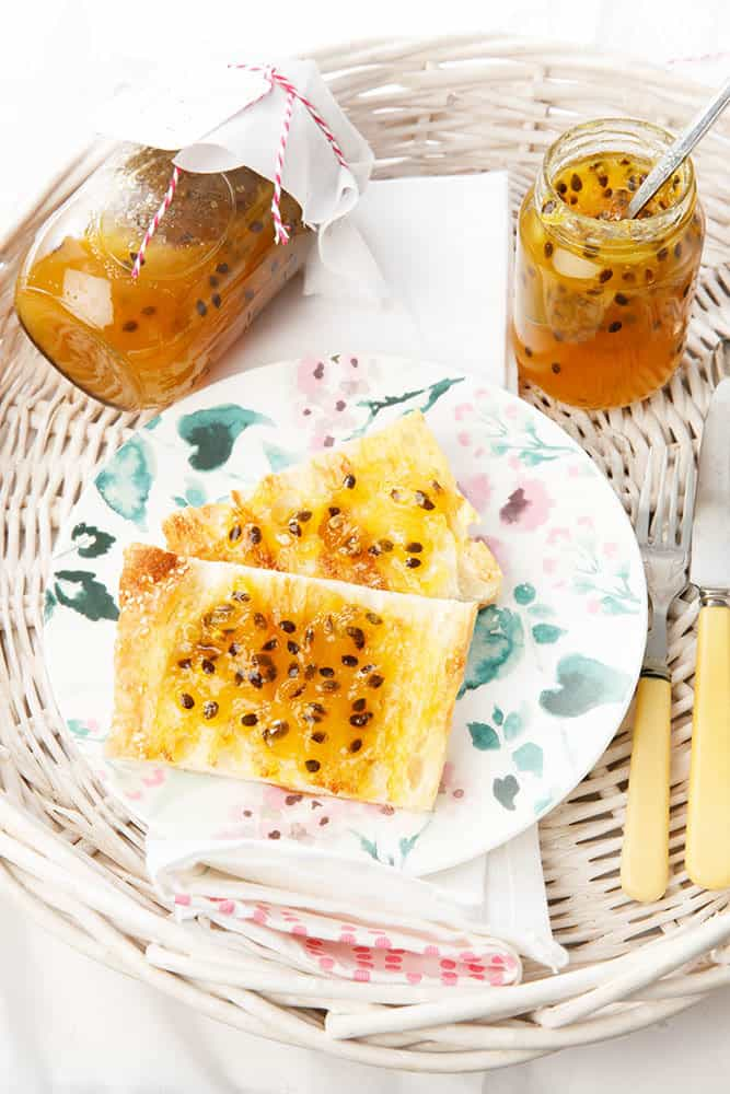 Homemade Thermomix Passionfruit Jam
