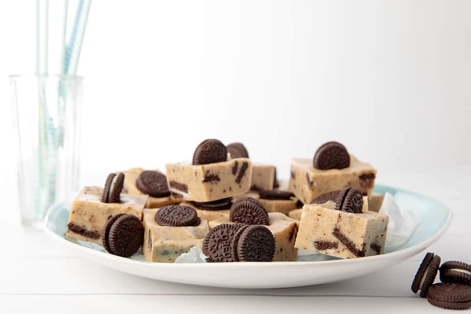 Oreo Cookies and Cream Fudge