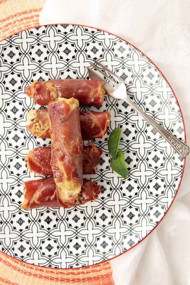 Prosciutto & Chicken Rolls