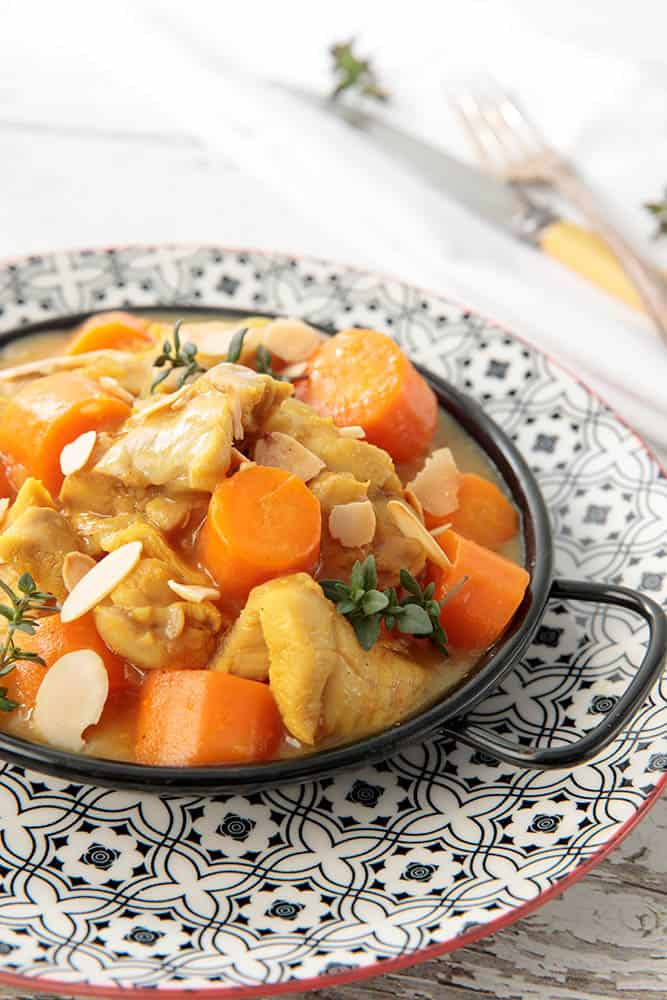 Retro Apricot Chicken