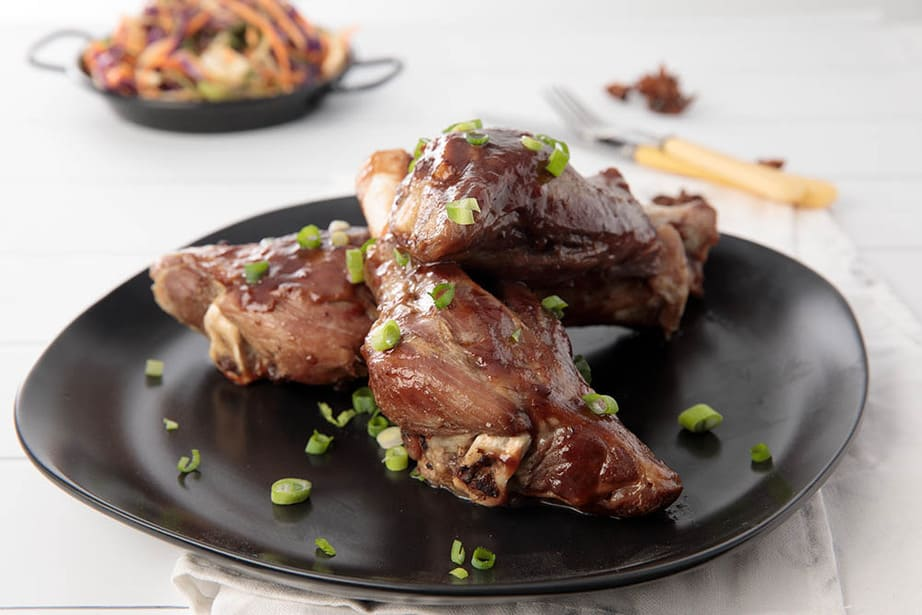 Thermomix Maple Syrup Lamb Shank