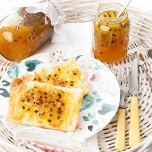 Thermomix Passionfruit Jam Toast