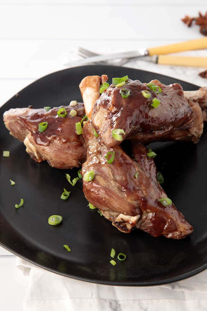 Thermomix Slow Cooked Lamb Shank