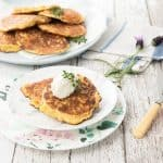 Brunch Setting Corn Fritters