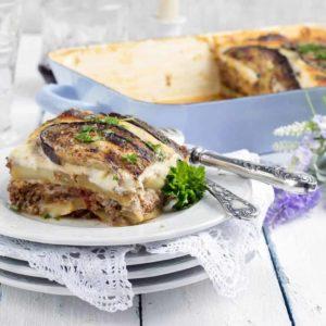 Layered Vegetarian Moussaka