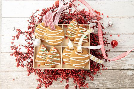 Gingerbread Cookies in box