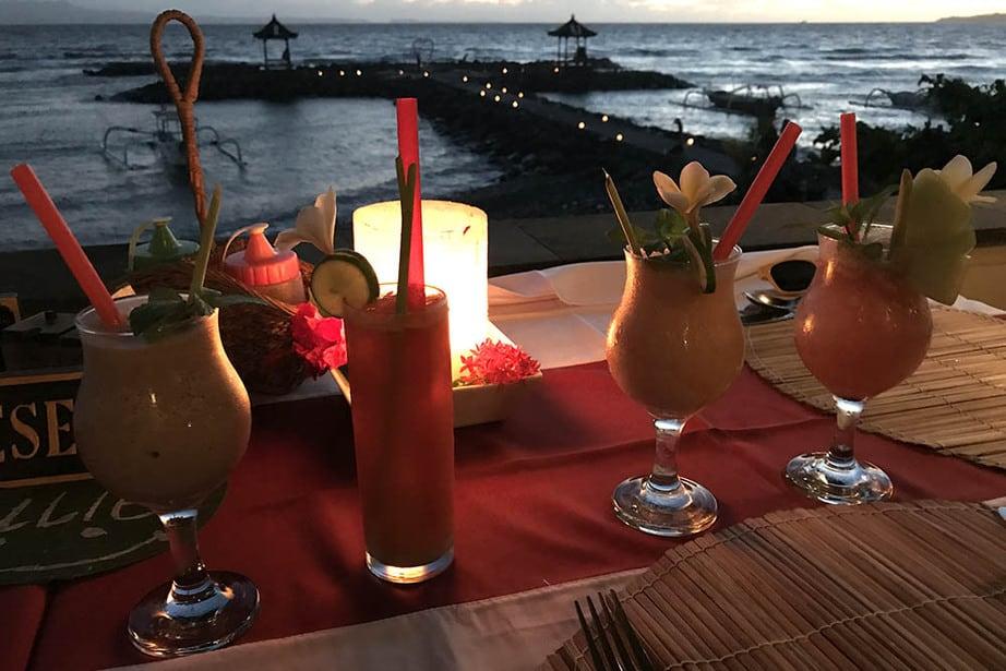LeZat Restaurant Candidasa Bali