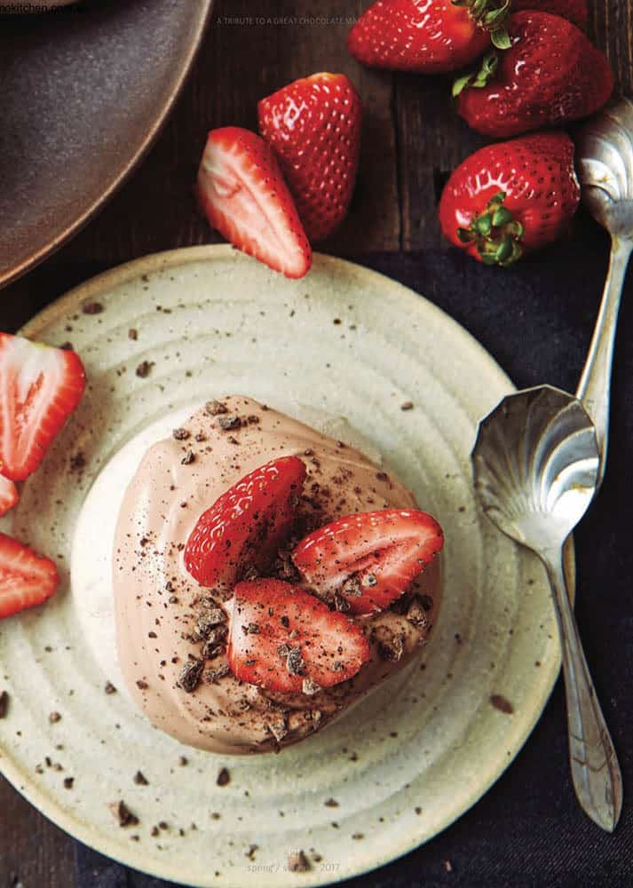 Chocolate & Strawberry Pavlova