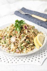 Grainy Lentil Couscous Salad
