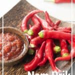 Thai Chili Paste Pin - Nam Prik Pao
