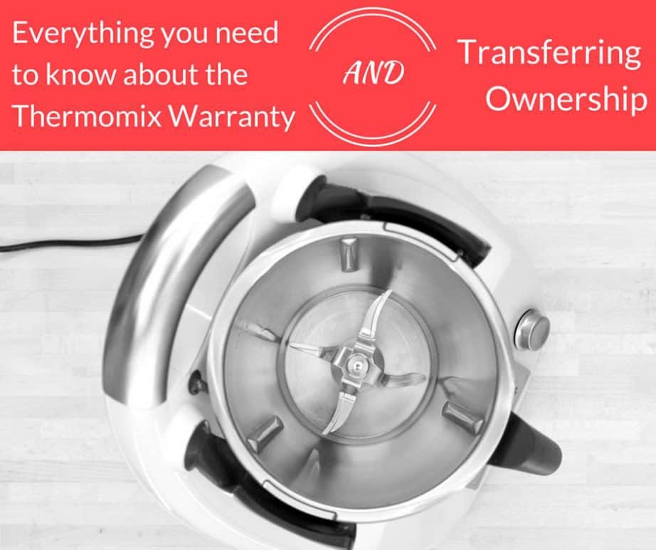 Transfer Thermomix Ownership copy