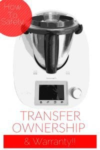 Transfer Thermomix Warranty