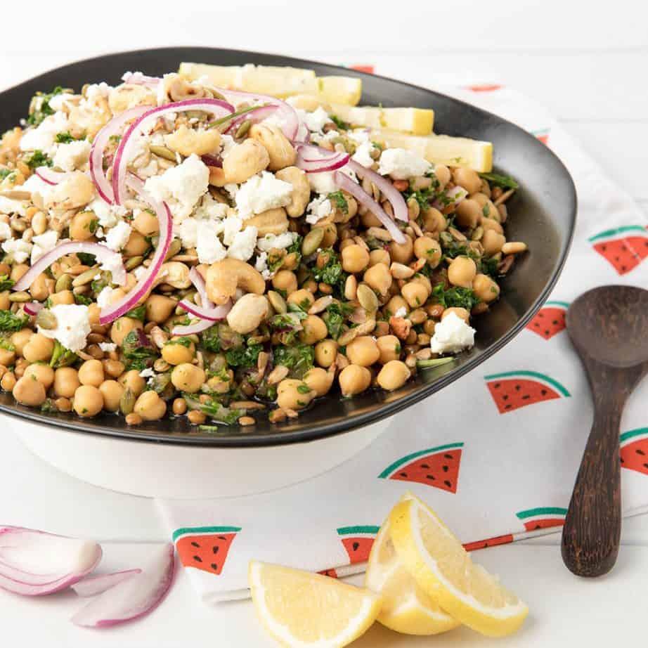 Healthy High Fibre Salad