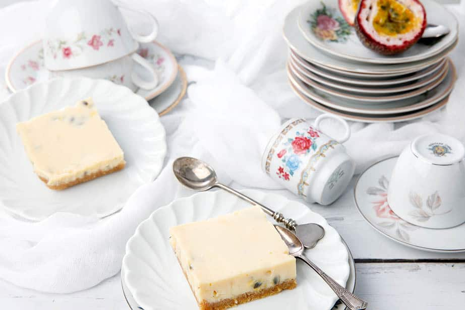 Simple Passionfruit Slice -A Quick Retro Treat