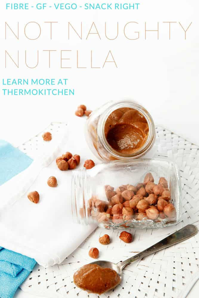 Did you know you can make a healthier version of Nutella in your Thermomix? The kids will be happy and so will you!