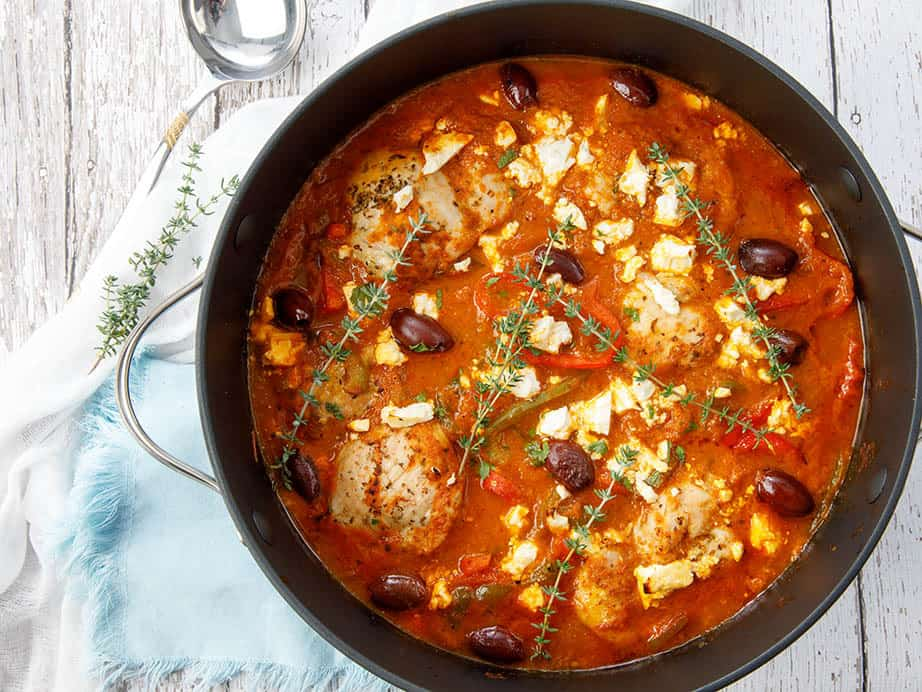 Classic Chicken Cacciatore Recipe made FAST in the Thermomix