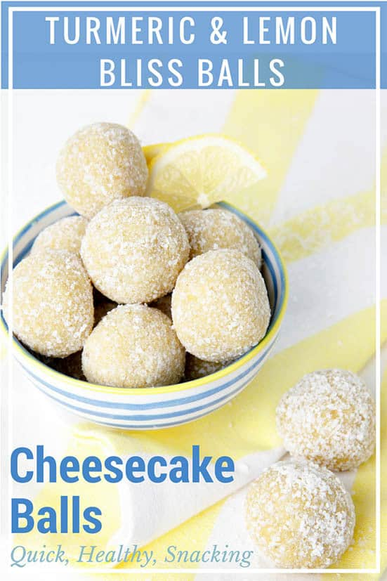These Thermomix Lemon Bliss Balls taste like decadent cheesecake filling rolled in coconut! I'm not kidding, they taste just like cheesecake. Except, unlike the dessert, these little bites are perfectly healthy.  #Thermomix #blissballs #proteinballs #lemonblissballs