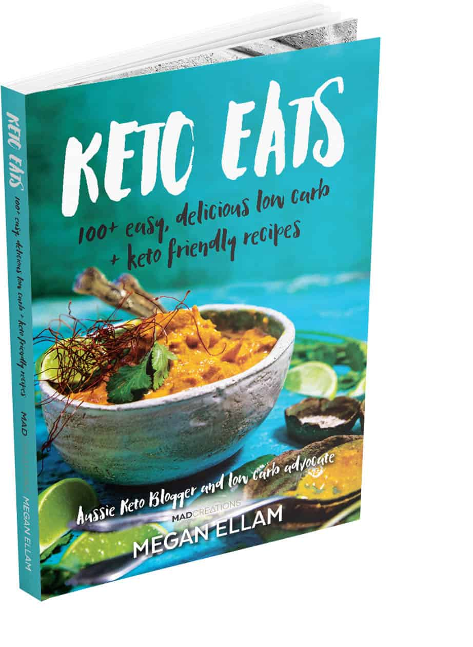 Picture of the front cover Keto Eats by Megan Ellam