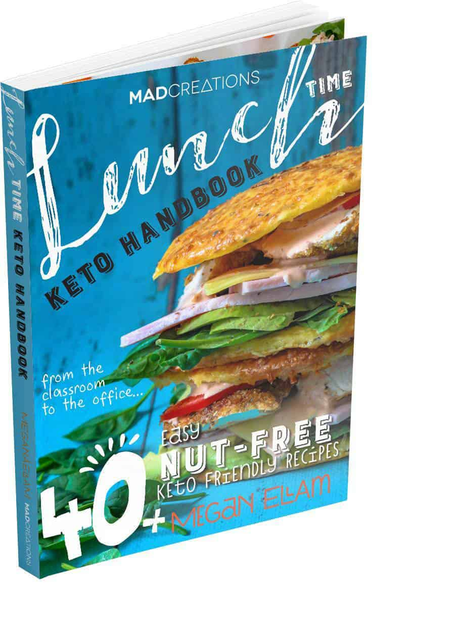 Cover image of Keto Lunch Time Cookbook
