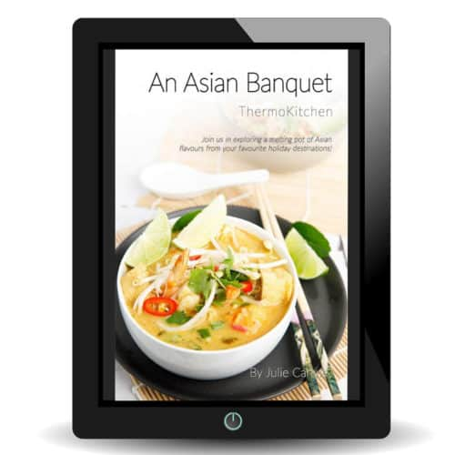 Cover of An Asian Banquet ebook on an iPad