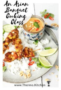 An image of Malaysian Chicken advertising the Asian Cooking Class