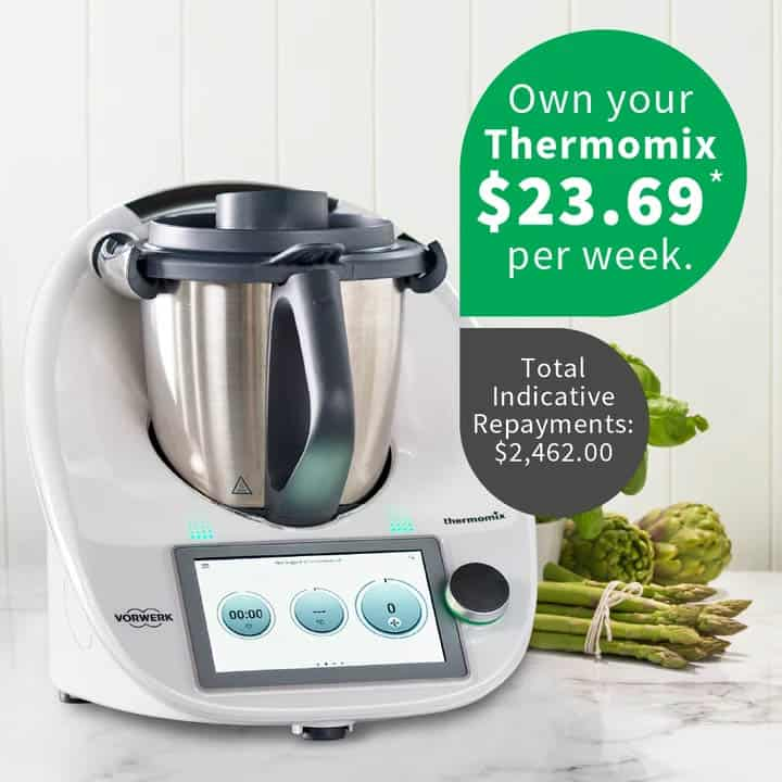Thermomix with a zip pay offer