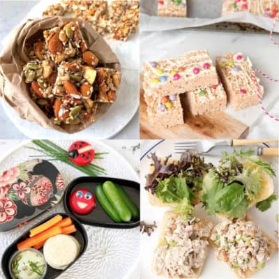 four Images of Ideas for School Lunchboxes