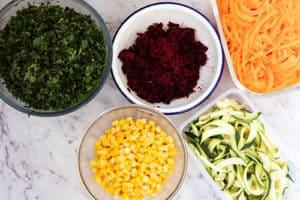Salad Bowl vegetables